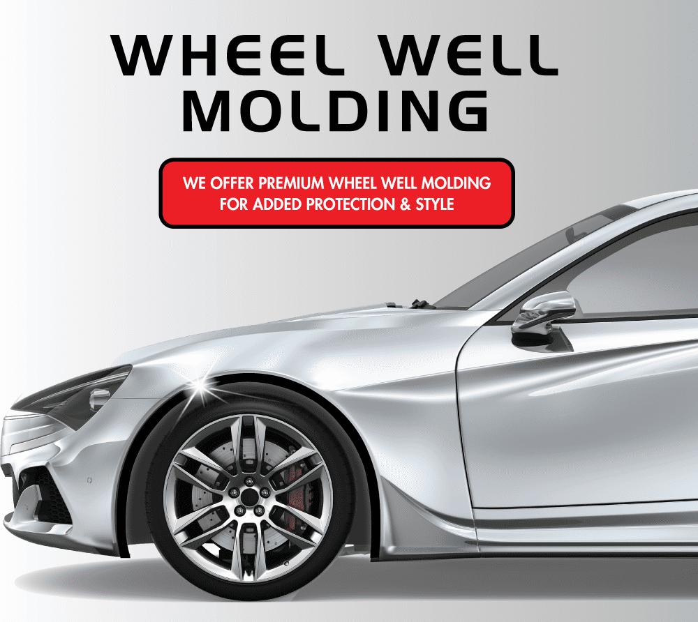 "30/' Feet Chrome Finish 5//8/"" Auto Body Molding Trim and Wheel Well Trim"